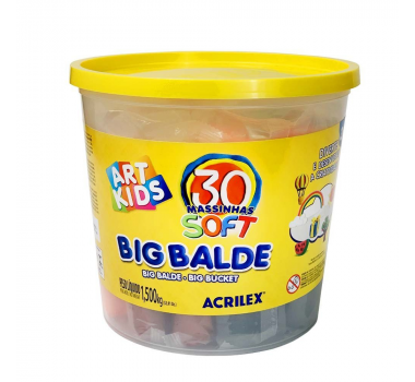 Massinhas ArtKids - Big Balde