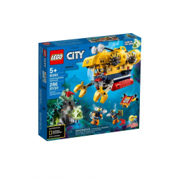 Lego City 60264 - Submarino de Exploração do Oceano