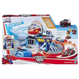 Transformers Rescue Bots - Pista de Corrida e Captura