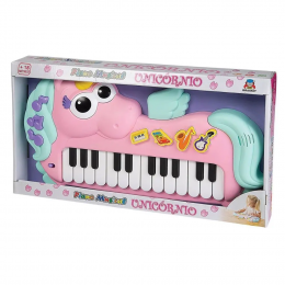 Piano Musical Infantil - Unicórnio