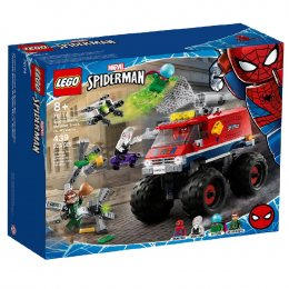 Lego Super Heroes Marvel 76174 - O Monster Truck do Homem-Aranha vs. Mysterio