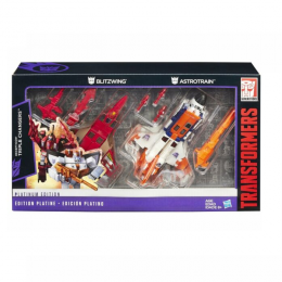 Transformers Platinum Edition - Blitzwing e Astrotrain