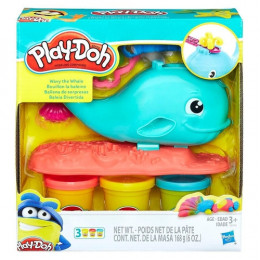 Baleia Divertida Play Doh