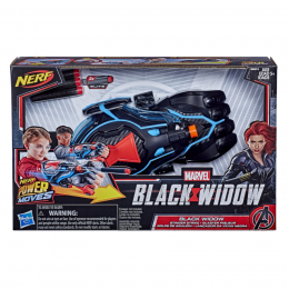 Nerf Power Moves - Black Widow - Lançador da Viúva Negra