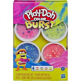 Play Doh Color Burst Sort