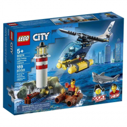 Lego City 60274 - Captura no Farol