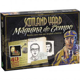 Jogo Scotland Yard-Maquina do Tempo