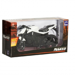 Motorcycle Naked - Branca