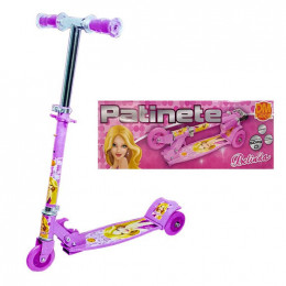 Patinete Radical Top 3 Rodas Rosa