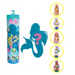 Boneca Barbie - Color Reveal Surpresa Sereia