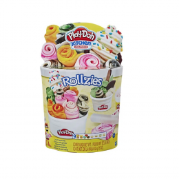 Conjunto de Massinhas - Play-Doh - Rollzies Sorvete